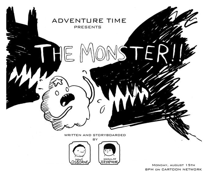 The Monster Promo Art