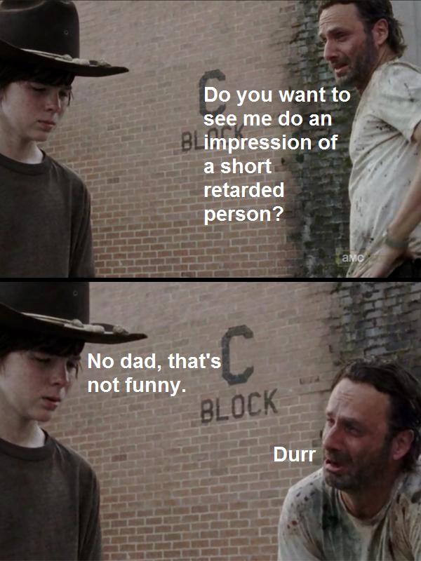 retarded rick