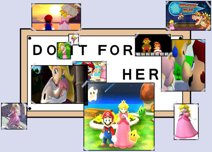 Do it for her, Mario.