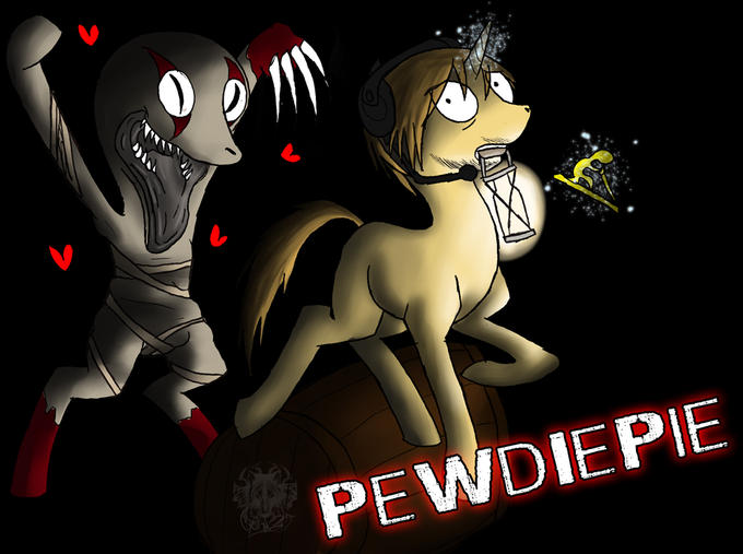 PewDiePie Pony by WolftenDragon