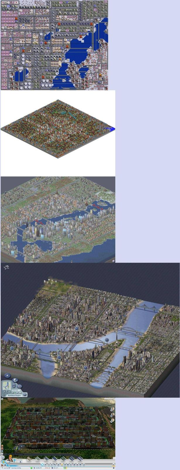 A Comparison of city sizes