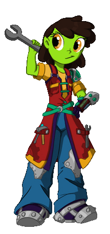 Lil' Orcie Girl Nasia the Engineer [final version]