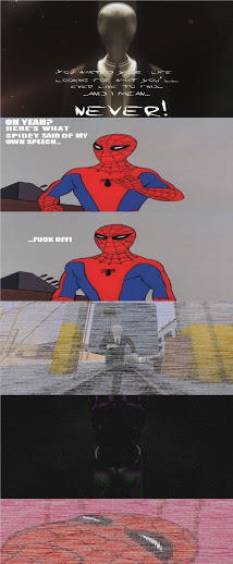 60s Spider Man Vs Slenderman