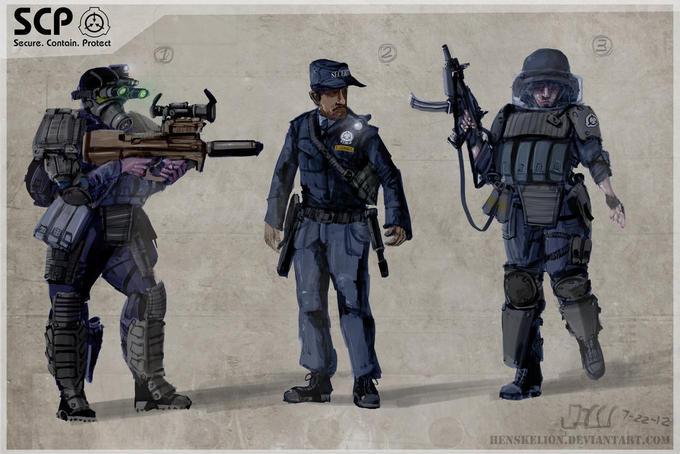 SCP Security Team concept