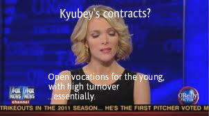 Megyn defends Kyubey