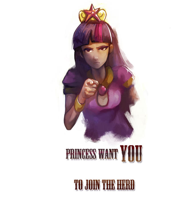 Princess want you to join the herd