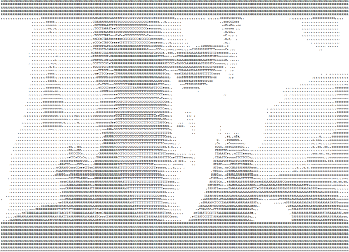 Fully animated ASCII version of The Matrix (see notes for link)