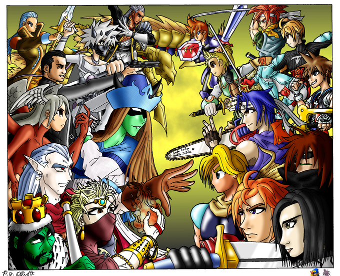 Dissidia Spinoffs by Sephiroth7734