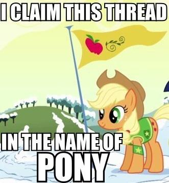 And this is what happens when someone brings up ponies on YouTube comments.