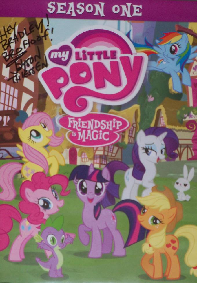 Big Apple Ponycon: Jayson Thiessen Autograph