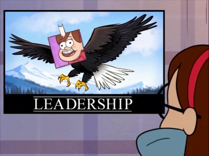 Boss Mabel's Leadership Motivational Poster
