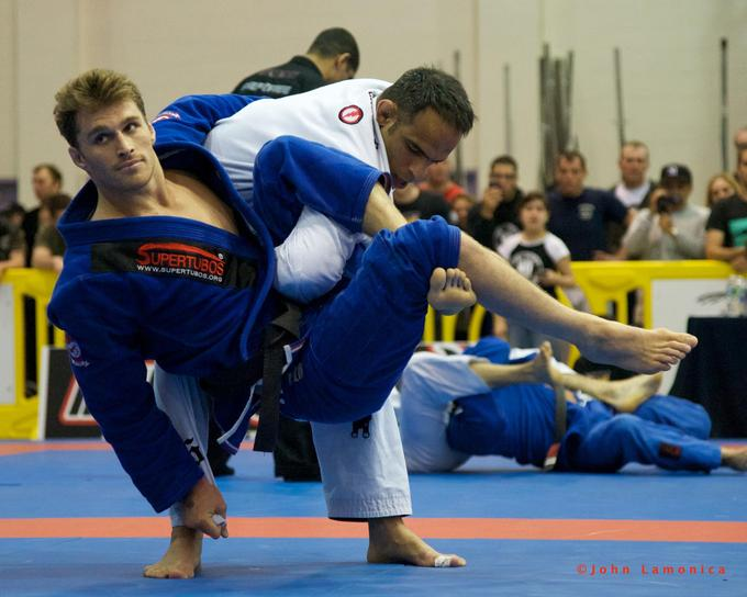 Ridiculously Photogenic Jiu-Jitsu Athlete