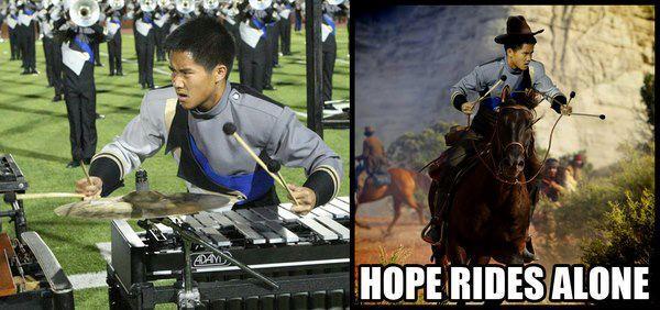 Hope Rides Alone