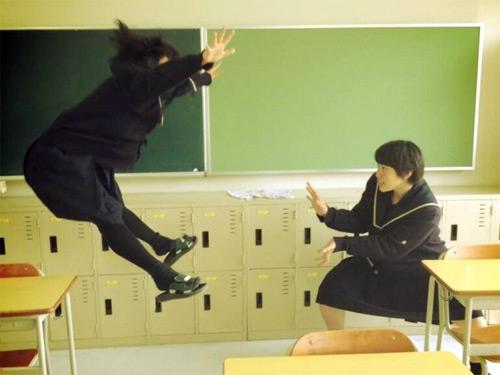 Photo Fad From Japan: Hadokening