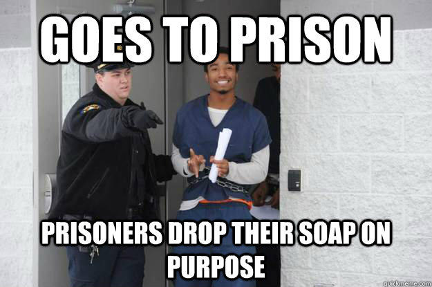 Ridiculously Photogenic Prisoner