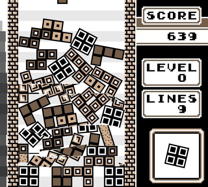 Go home Tetris, you're drunk