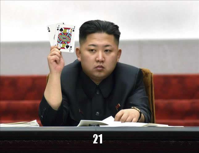 Kim Jong-un BlackJack!