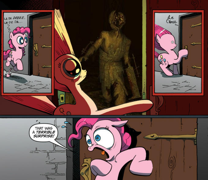 Pinkie Pie visits Brennenburg Castle