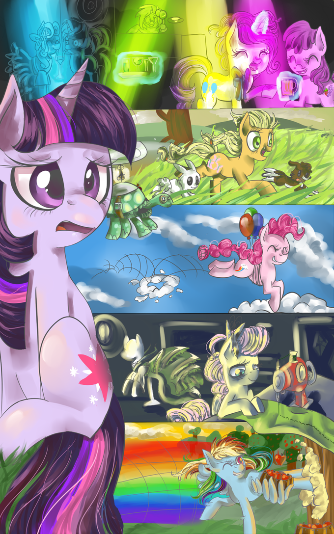 What My Cutie Mark is Telling me-HARD MODE