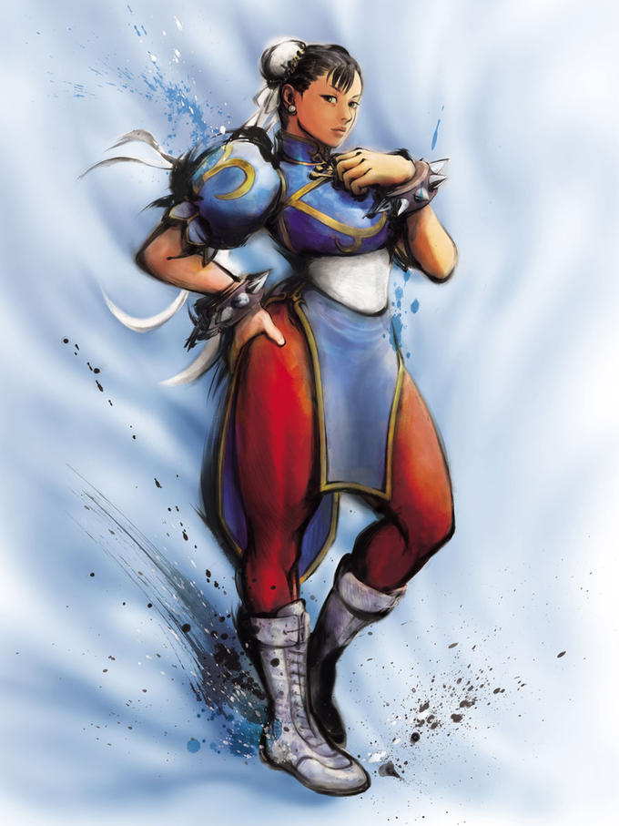 Street Fighter IV Character Art
