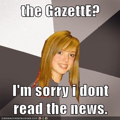 the GazettE?
