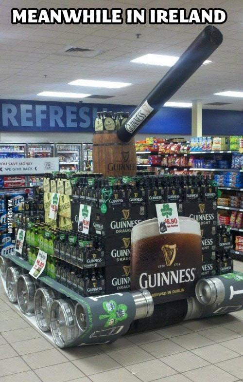 Ireland Supermarket