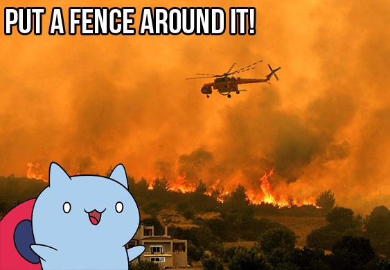 Put a Fence Around It!