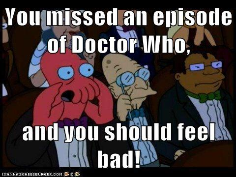 Dr. Who missed