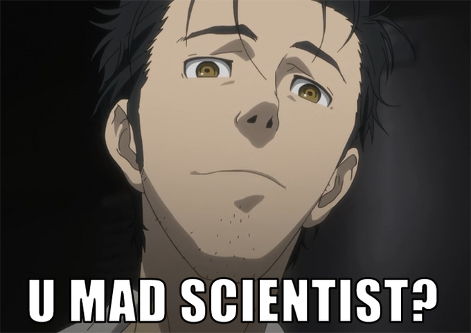 U Mad Scientist?