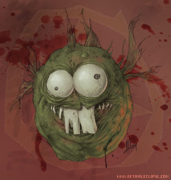 Demonic Dopefish by Arachne