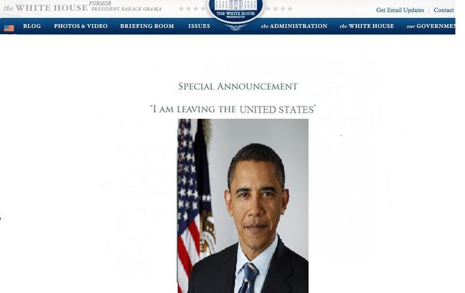 Obama's Hoax