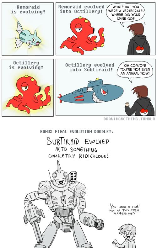 Evolving is Super Serious Stuff