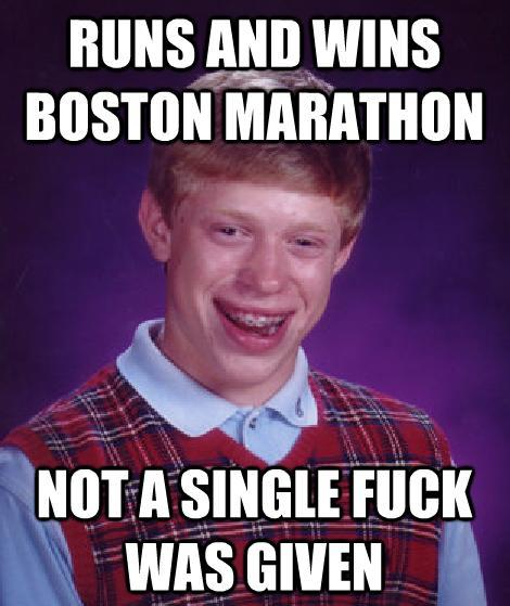 Boston Marathon Brian