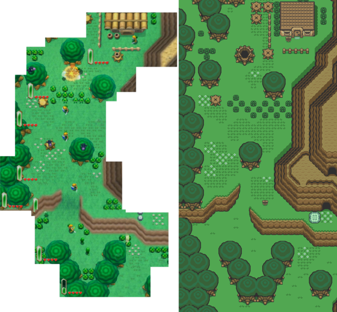 A Link To The Past 2 Direct Comparison