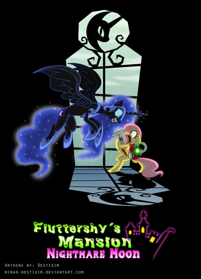 Fluttershy's Mansion - Nightmare Moon