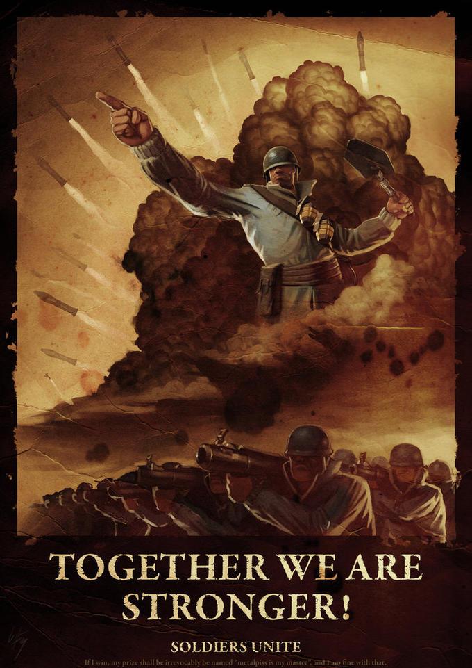 Soldier propaganda