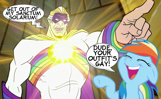 Rainbow Dash vs. Captain Sunshine