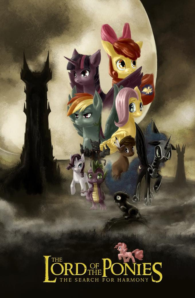 Lord of the Ponies Search for Harmony