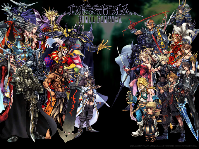 Dissidia: Final Fantasy Characters