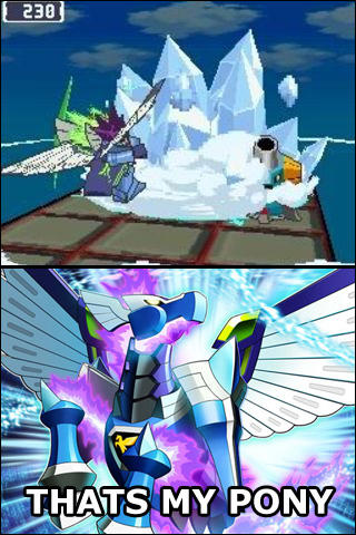 I used to wonder what Megaman Starforce could be