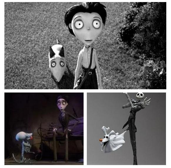 Continuity in Tim Burton Films