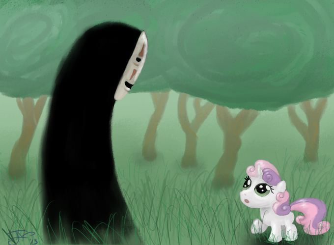 Sweetie meets No Face