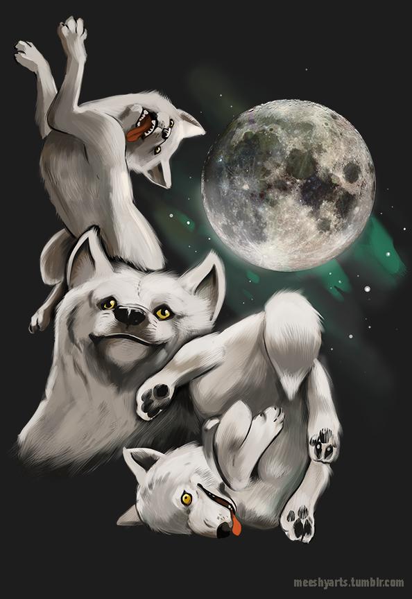 Three Wolf Moon Moon