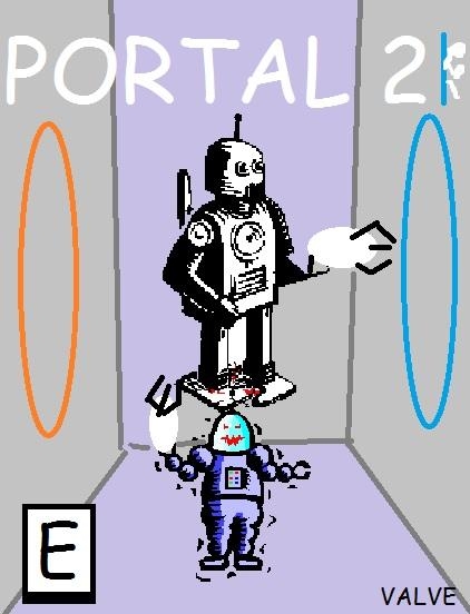 Portal 2 Clipart Cover