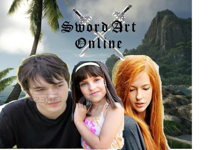 Sword Art Online- Clipart Style