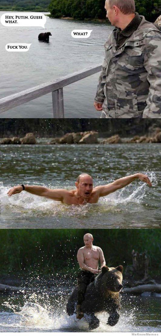 Hey Putin, Guess What?