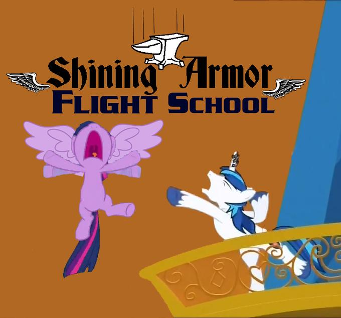 Shining Armor Flight School