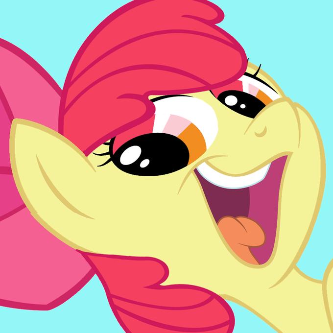 Applebloom smeel