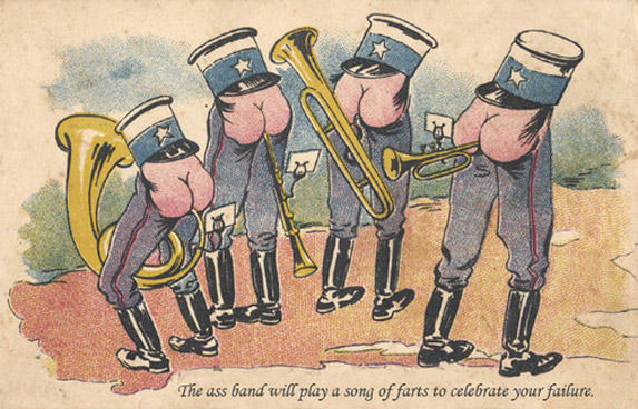 the ass band