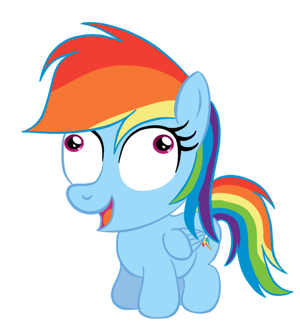 Chibi Rainbow Dash